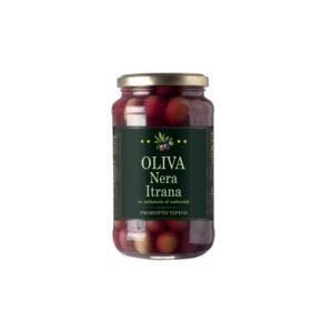 GreenFood Olive Nere Itrane in salamoia