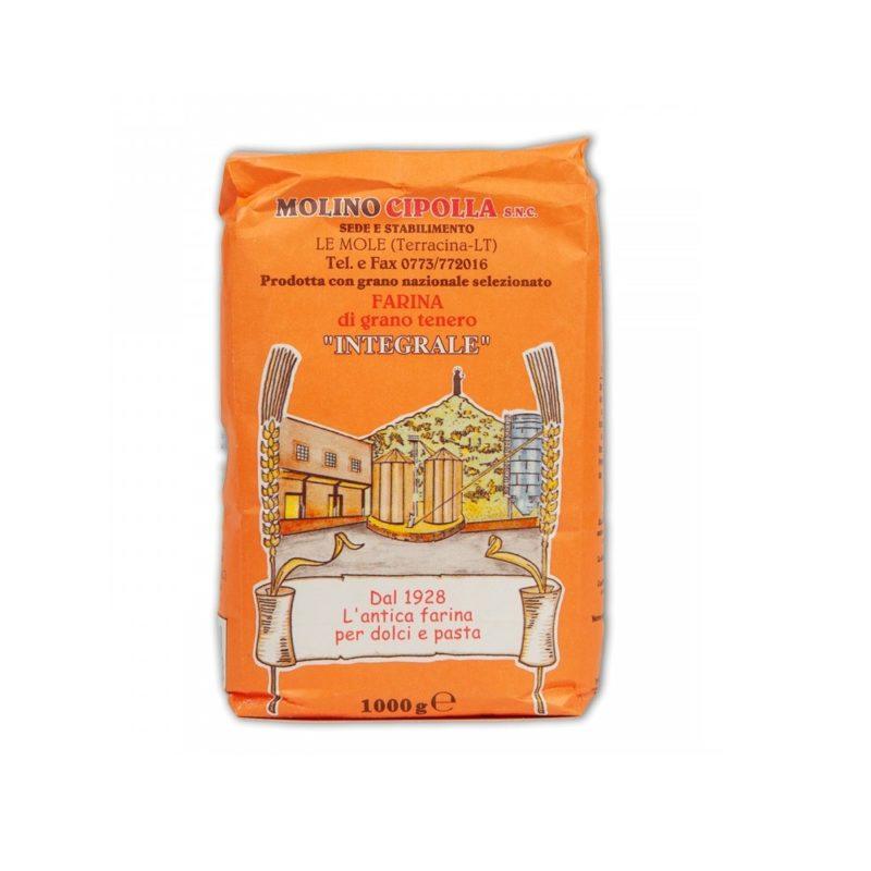 Molino cipolla - Farina di grano tenero integrale