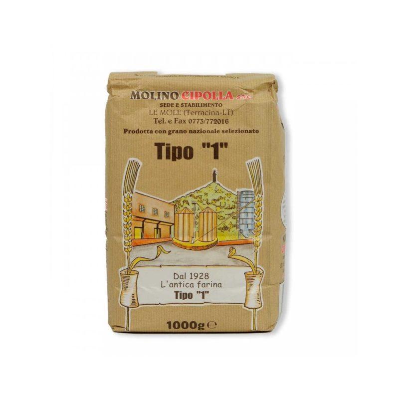 Molino cipolla - Farina di grano tenero tipo 1
