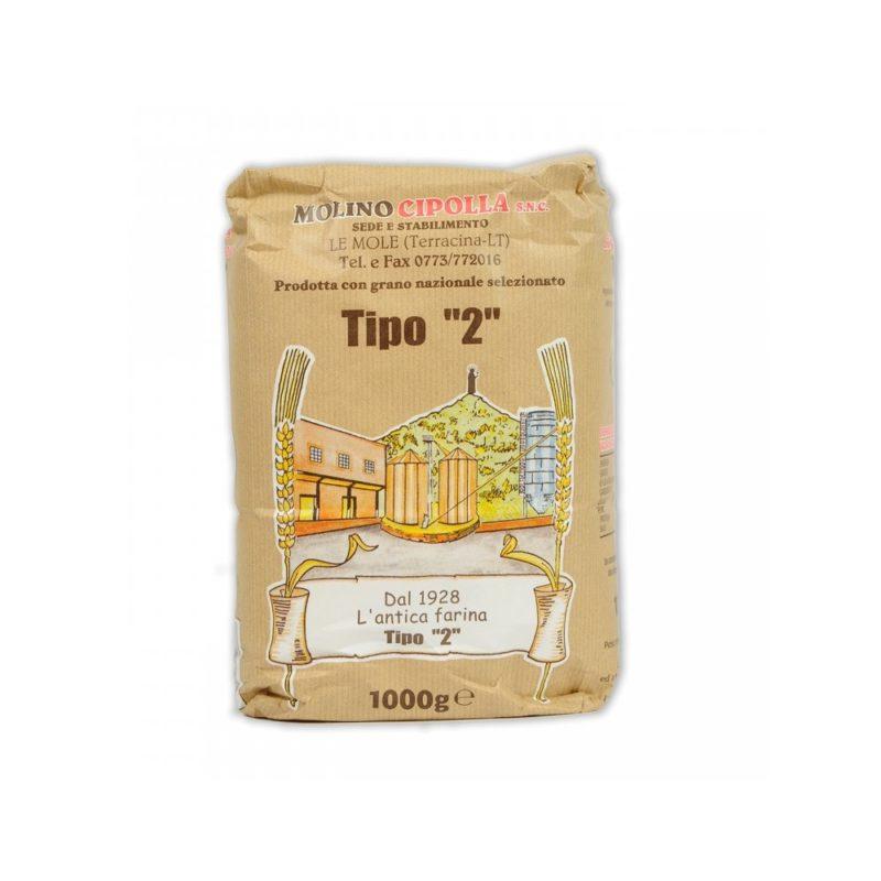 Molino cipolla - Farina di grano tenero tipo 2
