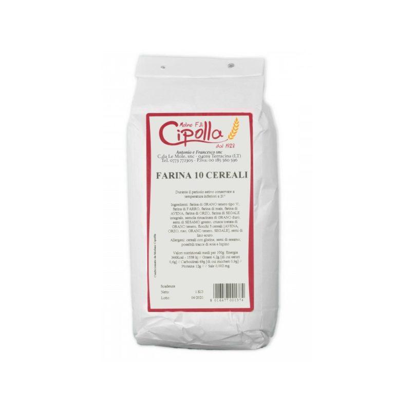 Molino Cipolla - Farina 10 Cereali