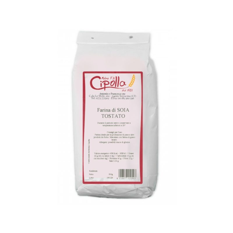 Molino Cipolla - Farina di soia tostato